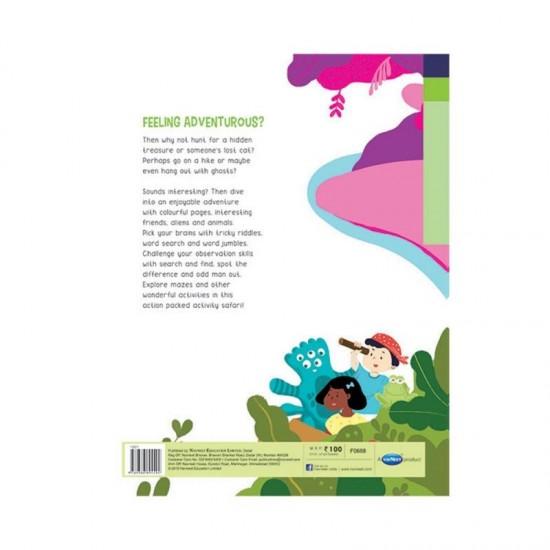 Brain Teaser  | Activity Book - 1 | Pack of  30  | Navneet | F0668