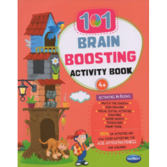 101 Brain  Boosting  Activity| Book-2 |Pack of  88 pieces | Navneet | F0754