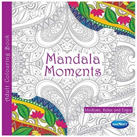 COLOURING BOOK- MANDALA MOMENTS :F1083