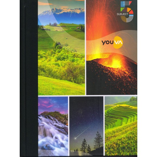 5 Subject  Note Book |Pages 400 Single Line |Size 18.5 cm x 24.7 cm | Pack of 24 pieces |VT22365 | Navneet Youva