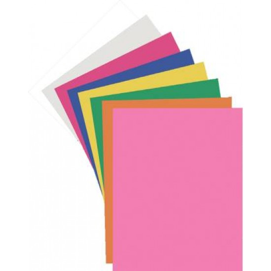 Craft paper  | Big size 22 cm X 28 cm |Pack of 50 sheets |Quantity 80 packet |  Navneet Youva | VT22815
