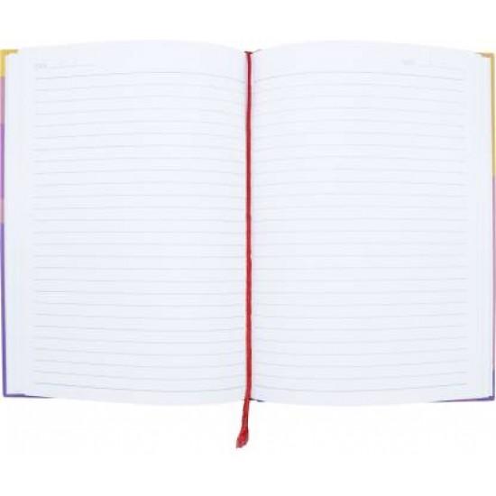 CASE BOUND NOTEBOOK    SINGLE LINE    PAGES 192   SIZE  A 5 14.8CM X 21 CM , VT22823   Navneet Youva