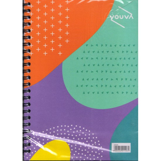 Side Wiro Bound |  Single Line | Size  14.8x21 cm | 160 Pages |Pack of 72 pieces | Navneet Youva | VT22826