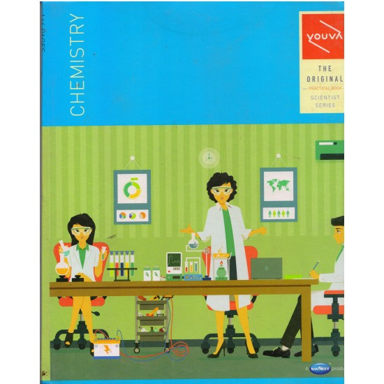 Chemistry Practical Laboratory l Book | Spiral Binding |  144  Pages| Size 21.5 cm x 26.5 cm |Pack of 64 | Navneet Youva |VT22969