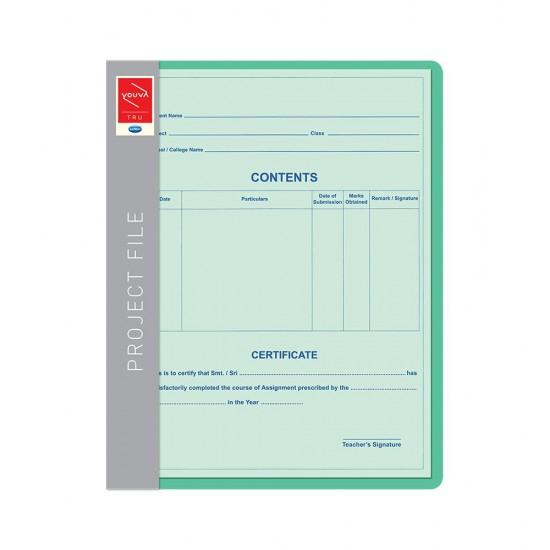Project File |   18 SHEETS | Size 22cm x 28 cm | Navneet | Youva | VT23528