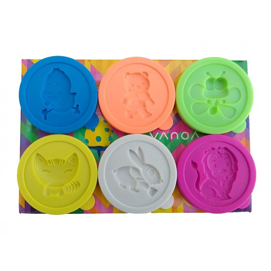 Navneet Youva | Dough Activity Set | Pack of 6 Tubs of 50g | VT35071