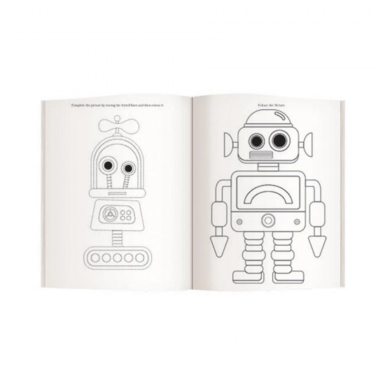 Jumbo Activity Book - 1  | F0761 | Pack of 30 |Navneet