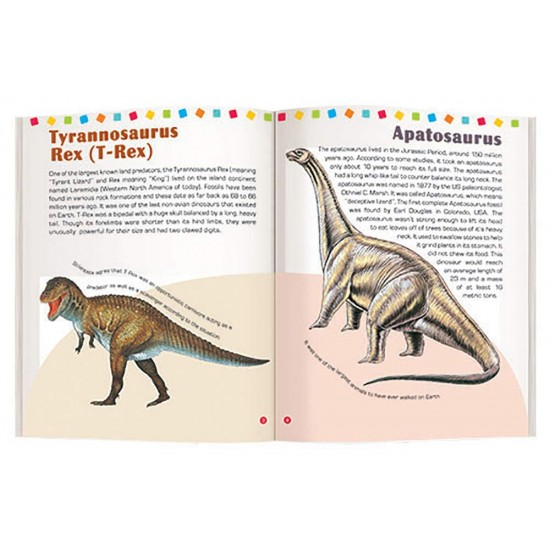DINOSAURS  THE NAVNEET PICTOPEDIA  Pack of 1 Pieces   F0324  Navneet