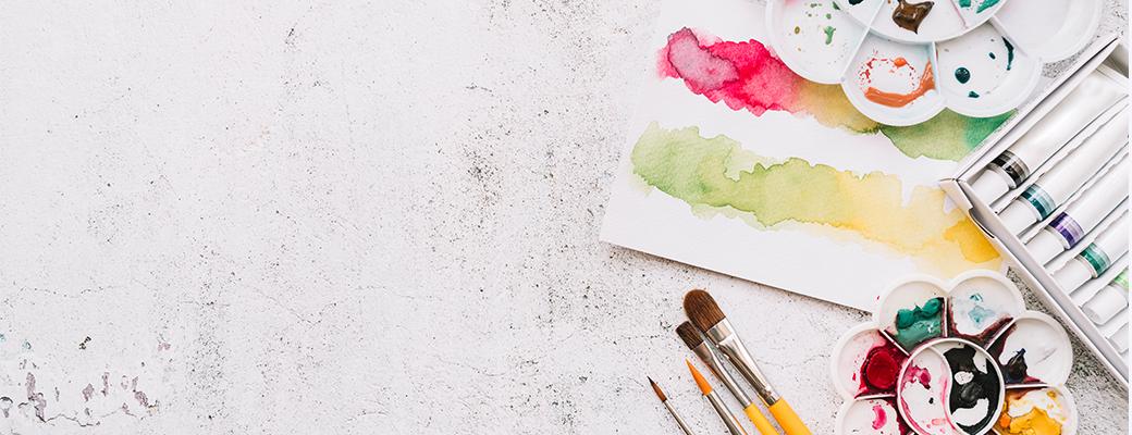 Colours & Art Materials